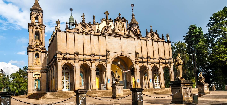 Cathédrale de la Sainte-Trinité - Addis-Abeba - Ethiopie