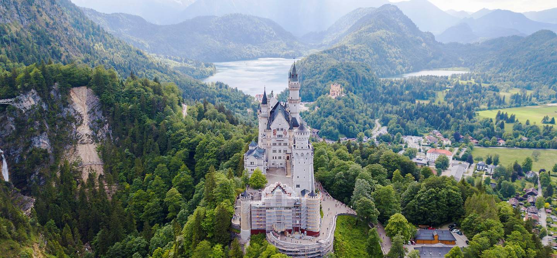 Château de Neuschwanstein - Bavière - Allemagne