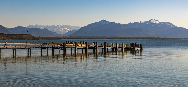 Lac Chiemsee - Bavière - Allemagne