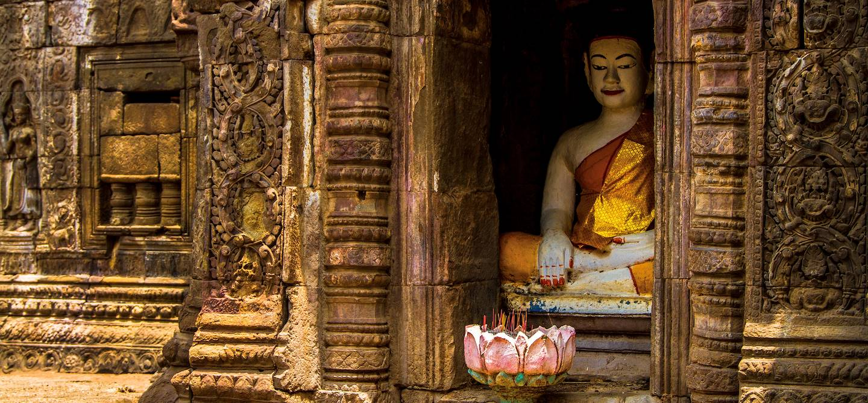 Temple de Nokor Bachey - Kampong Cham - Cambodge