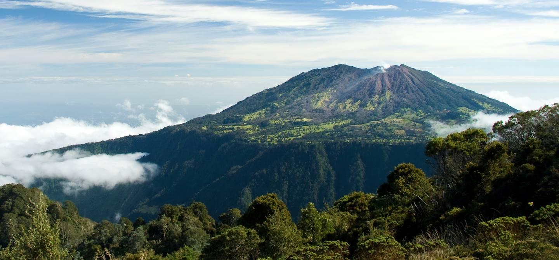 Le volcan Turrialba - Costa Rica