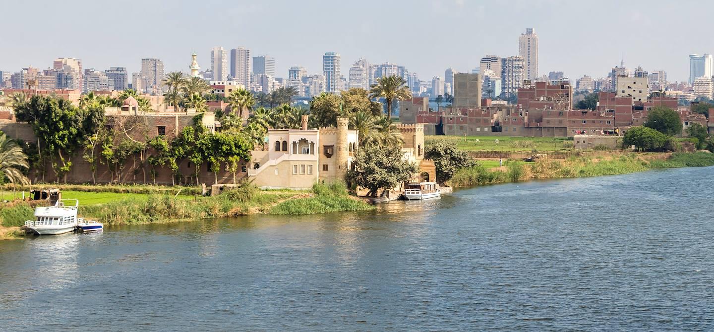 Le Caire vue depuis le Nil - Egypte