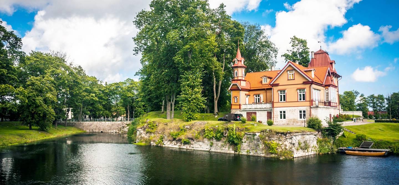 Kuressaare - Île de Saaremaa - Estonie