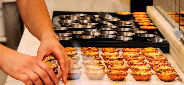 Préparation des Pasteis de Nata - Portugal