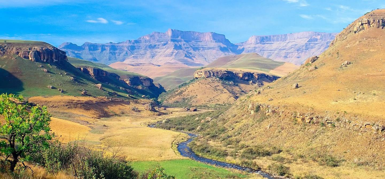 Giant's Castle Valley - Parc UKhahlamba - Povince du Kwazulu-Natal - Afrique du Sud