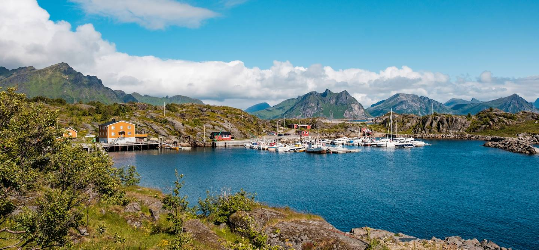 Port de Stamsund - Îles Lofoten - Norvège