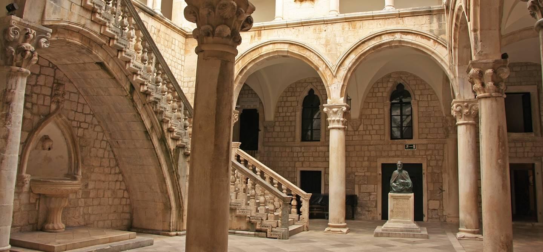 Palais du Recteur - Dubrovnik - Dalmatie - Croatie