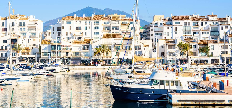 La marina puerto banus - Marbella - Province de Malaga - Espagne
