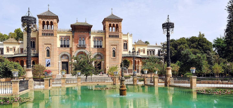 Parc de María Luisa à Séville - Andalousie - Espagne