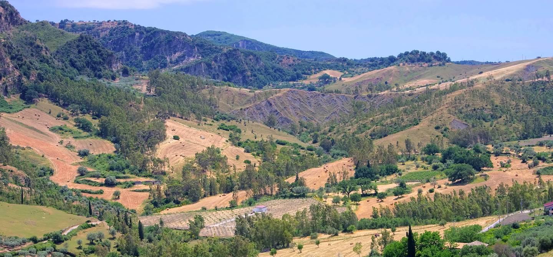 Parc de l'aspromonte - Calabre - Italie