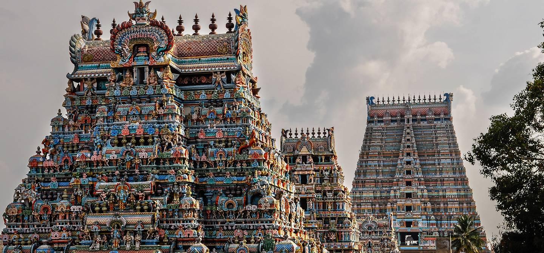 Temple de Meenakshi - Madurai - État du Tamil Nadu - Inde