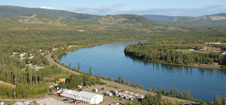 Carmacks - Territoire du Yukon - Canada