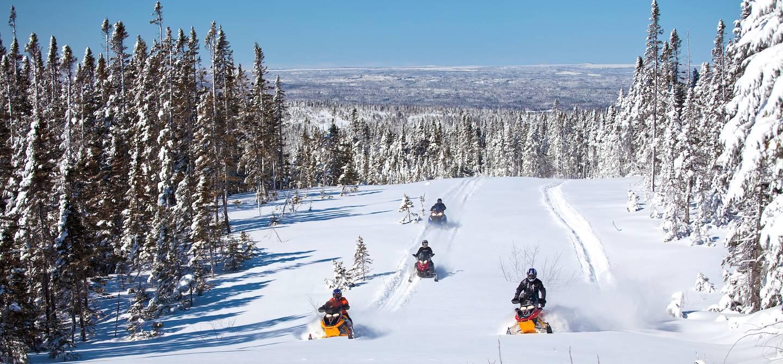 Motoneiges - Grand Falls-Windsor - Terre-Neuve-et-Labrador - Canada