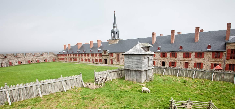 Forteresse de Louisbourg - Île du Cap-Breton - Nouvelle-Ecosse - Canada