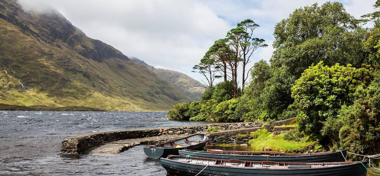 Paysage du Comté de Mayo - Doolough - Comté de Mayo - Connemara - Irlande