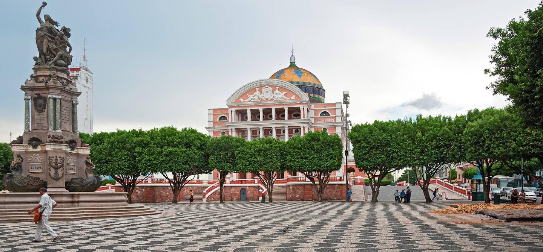 Théâtre de Manaus - Amazonas - Brésil