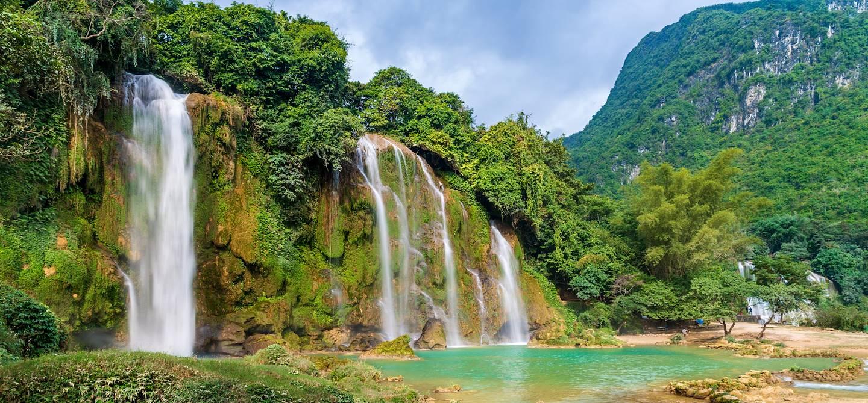 Chutes de Ban Gioc  - Province de Cao Bang - Vietnam