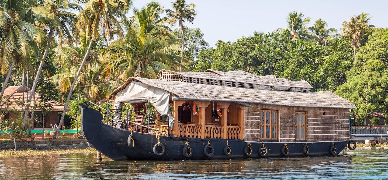 Croisière sur le lac Vembanad - Kerala - Inde