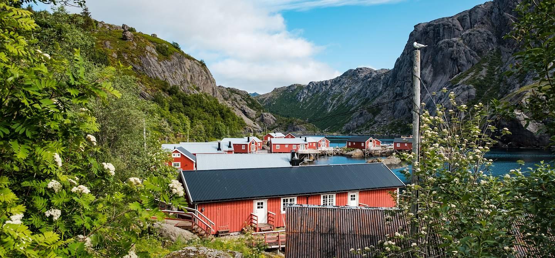 Village de Nusfjord - Îles Lofoten - Norvège