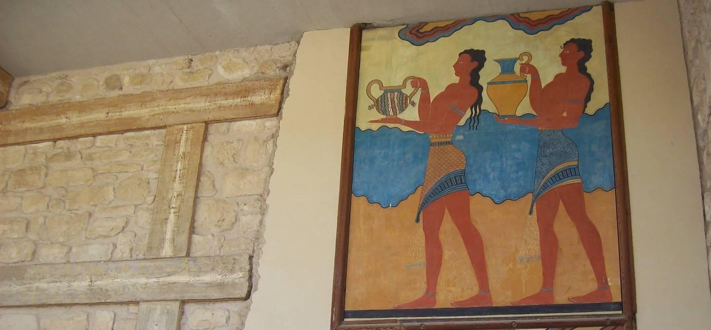 Palais Knossos - Crete - Heraklion - Grèce