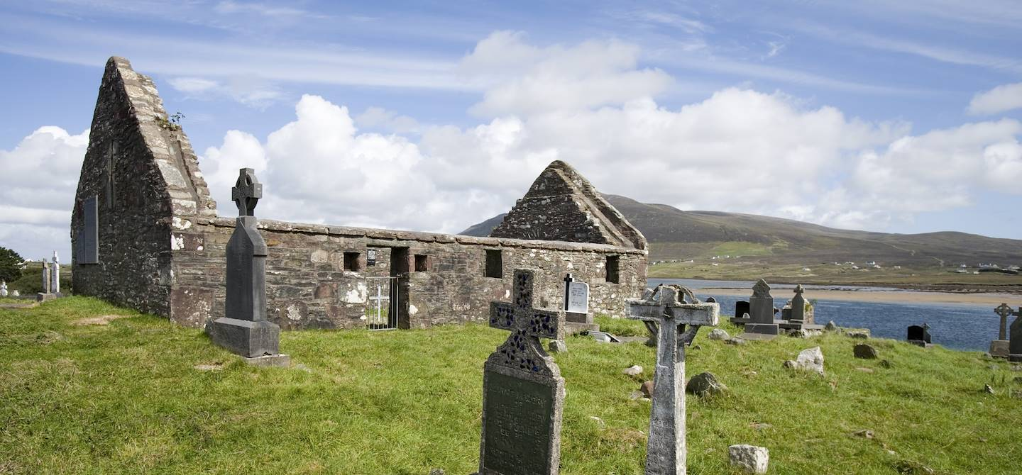 Kildownet Old Cemetery - Achill Island - Mayo - Irlande