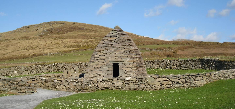 Oratoire de Gallarus - Ballydavid -  Péninsule de Dingle - Comté Kerry - Irlande