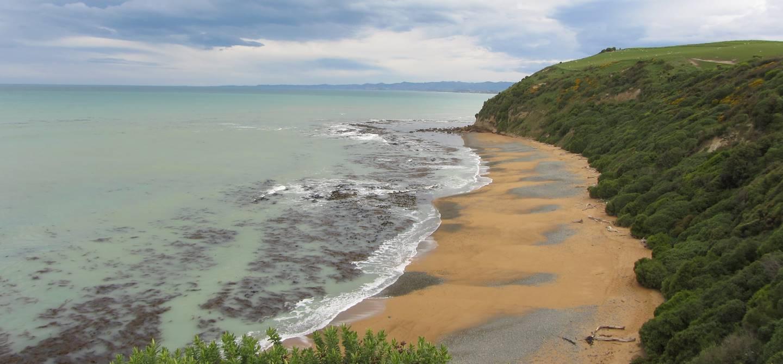 Plage d'Oamaru - Province d'Otago - Nouvelle Zélande