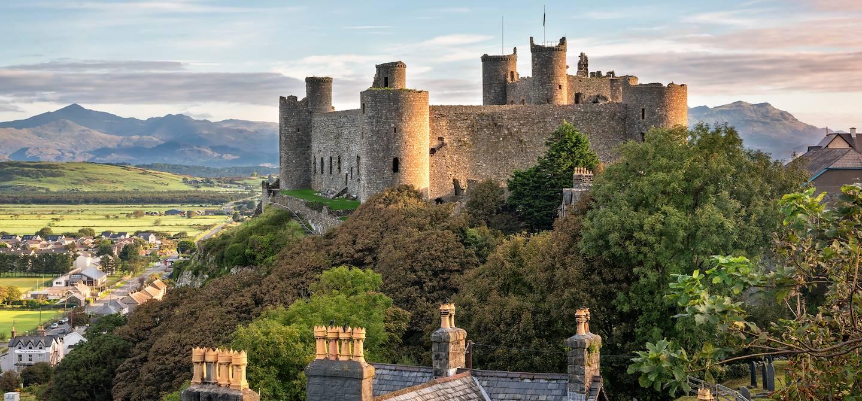 Château de Harlech - Pays de Galles
