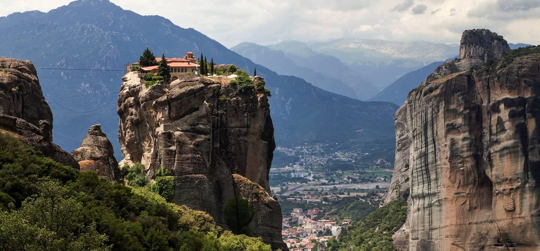 Monastère dans les Météores - Kalambaka - Thessalonique - Grèce