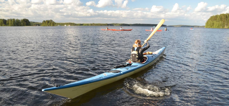 Canoé à Mikkeli - Savonie du Sud - Finlande