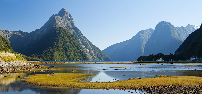 Milford Sound -Parc national de Fiordland - île du Sud - Nouvelle-Zélande