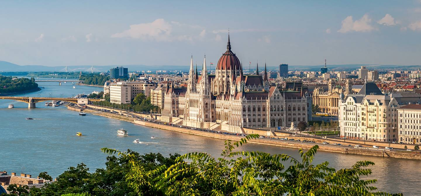 Panorama sur Budapest - Hongrie