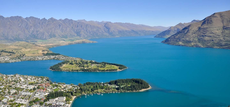 Queenstown et le lac Wakatipu - Nouvelle Zélande