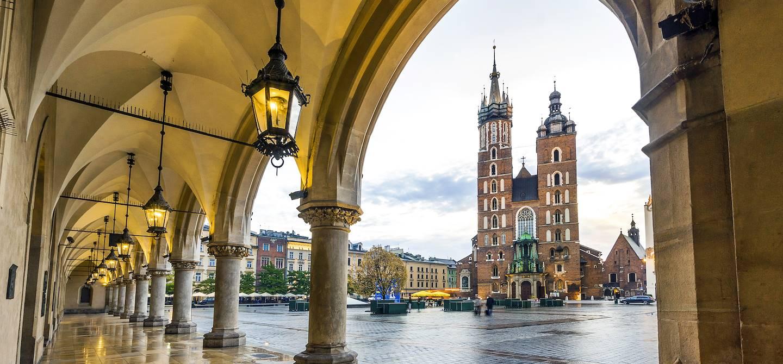 Place du marché de Cracovie - Pologne