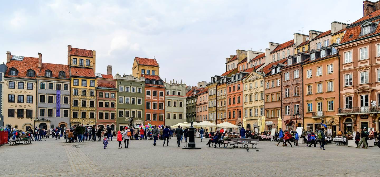 Vieille ville de Varsovie - Pologne