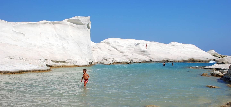Sarakiniko - Milos - Cyclades - Grèce