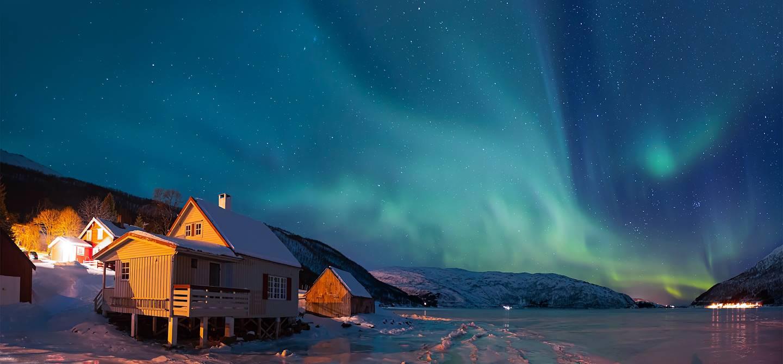 Aurore boréale - Laponie - Finlande