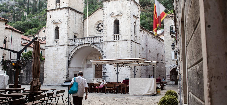 Cathédrale Saint-Tryphon à Kotor, ville fortifiée - Monténégro