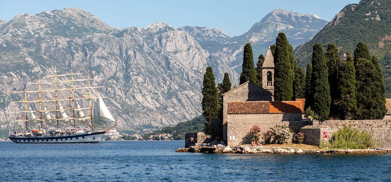 Le monastère Sveti Djordje - Bouches de Kotor - Monténégro