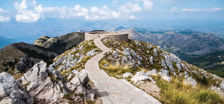 Mausolée de Petar II Petrovic-Njegoš sur le Mont Lovcen - Monténégro