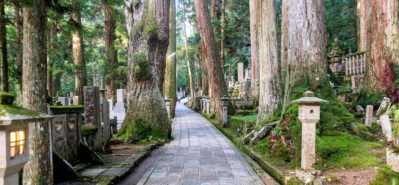 Cimetière d'Okunoin - Koya - Japon