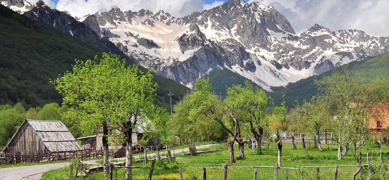 Le massif de Sinjajevina entre Kolasin et Njegovuda - Monténégro