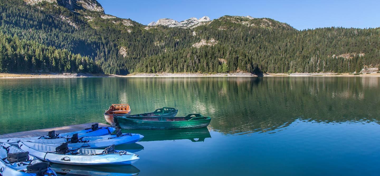 Le lac Noir dans le parc national de Durmitor - Monténégro