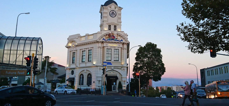 Quartier de Ponsonby - Auckland - Nouvelle-Zélande