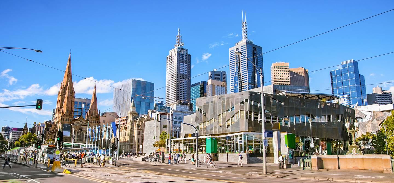 Federation Square - Melbourne - Etat de Victoria - Australie