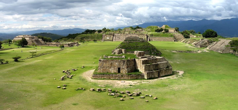 Site précolombien de Monte Alban - Oaxaca - Mexique