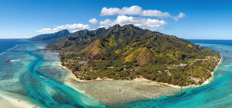 Île de Moorea - Archipel de la Société - Polynésie