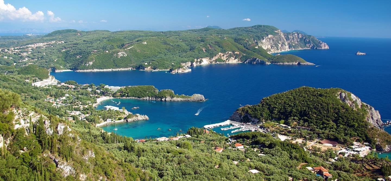 Paleokastritsa - Île de Corfou - Grèce
