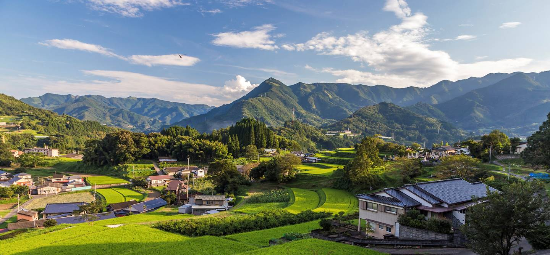 Région de Takachiho - Préfecture de Miyazaki - île de Kyushu - Japon
