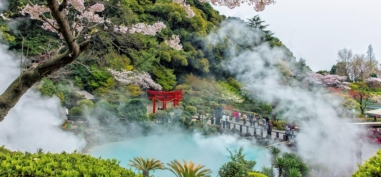 Umi Jigoku - Beppu - Préfecture d'Oita - île de Kyushu - Japon